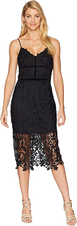 Hollyn Woven Lace Sheath Dress