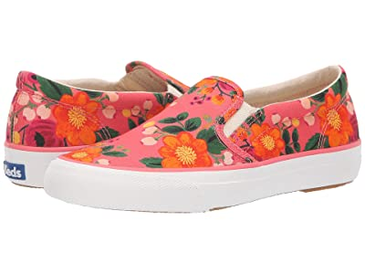 Keds x Rifle Paper Co. Anchor Slip Vintage Blossom (Pink) Women