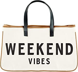 "Creative Brands D3712 Hold Everything Tote Bag, 20"" x 11"", Weekend Vibes"