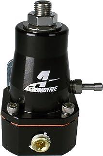 Aeromotive 13136 Regulator, Billet, EFI, 2x -6 inlet & -6 return, (Black Anodized Version of 13129)