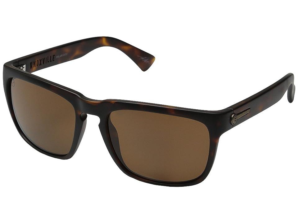 Electric Eyewear Knoxville Polarized (Matte Tort/Melanin Level 1 Bronze Polar) Sport Sunglasses