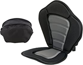 Redneck Convent Universal Padded Kayak Seat Cushion w/Detachable Backpack & Adjustable Straps – Boat Seat Pad & Backrest Padding