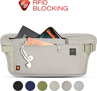 Lewis N. Clark Luggage RFID-Blocking Hidden Money Belt, Taupe