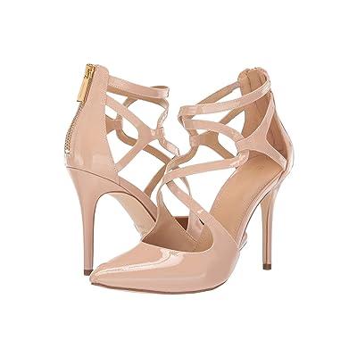 MICHAEL Michael Kors Catia Pump (Light Blush Patent) High Heels