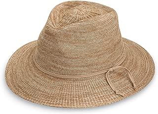 Wallaroo Hat Company Women's Victoria Fedora Sun Hat - UPF 50+, Modern Style, Designed in Australia