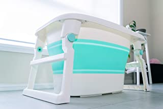 KIDZ & BELLZ new BATH BABY, Newborn , Toddler to small child Baby Bath Tub 3 in 1 Foldable Portable Baby Boy Baby Girl Fol...