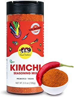 Seoul Sisters Kimchi Seasoning Mix 100g – Original Korean Kimchi Powder. Vegan/Gluten-Free/NON-GMO, Delicious BBQ Dry Rub ...