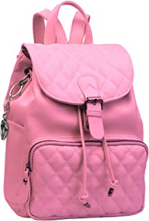 Alice Fashion Women Suture Rhombic Backpack Waterproof Anti-theft Lightweight PU Leather Shoulder Diagonal Bag Travel Ladi...