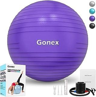 Gonex Balón de Ejercicio Pelota de Equilibrio para Yoga