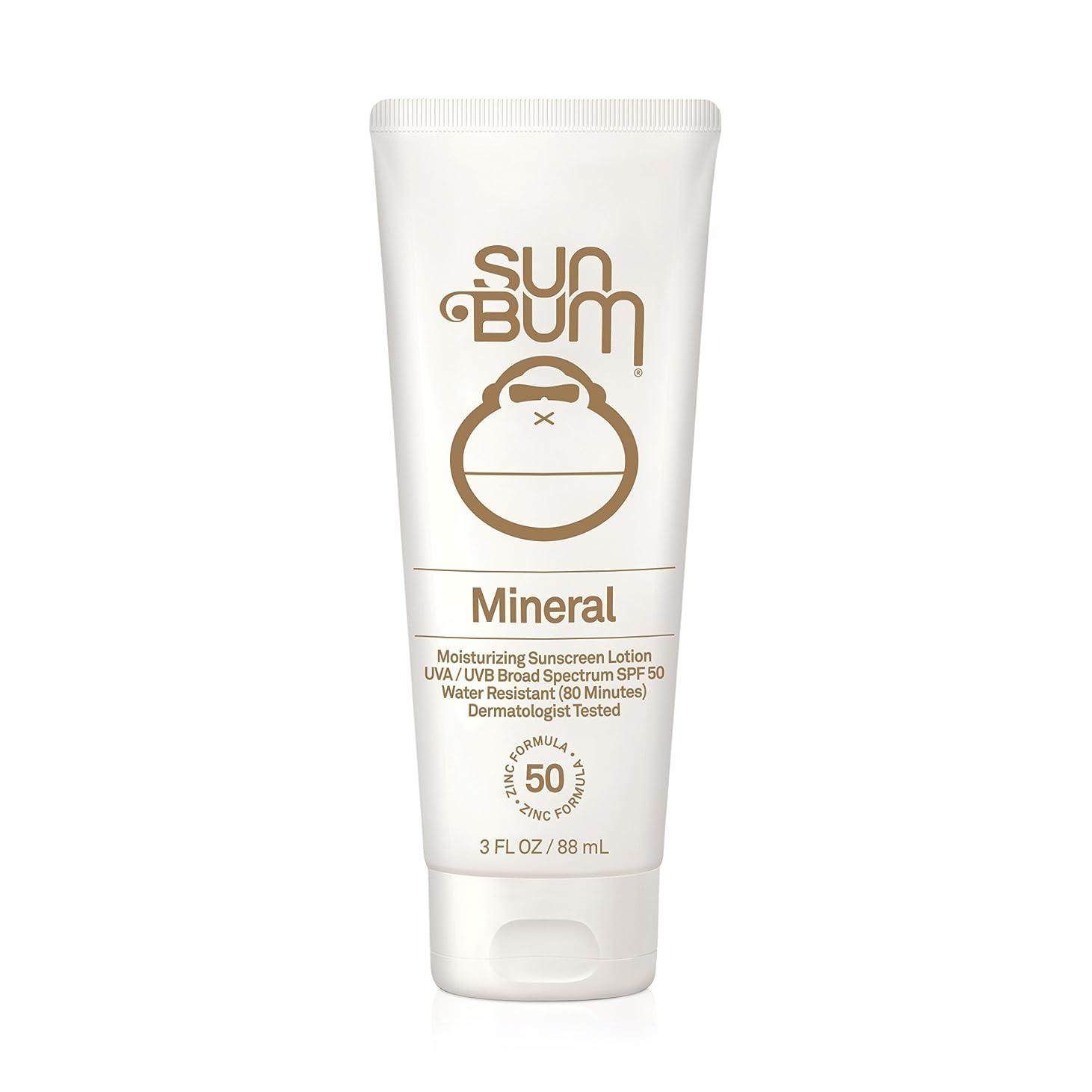 古代ピンチありがたいサン バン SUN BUM 日焼け止め サンスクリーン オーガニック ハワイ Sunscreen SPF 50 88ml 3FL OZ
