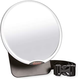 Diono Easy View, Back Seat Baby Mirror, Silver