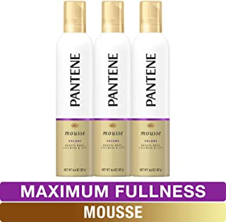 Pantene Body Boosting Mousse, Pro-V Maximum Fullness, 6.6 Ounce, Pack of 3