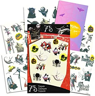 Nightmare Before Christmas Tattoos - 75 Temporary Tattoos ~ Jack Skellington, Sally, Oogie Boogie, and More!