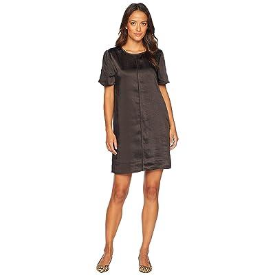 Lilla P Back Zip Dress (Black) Women