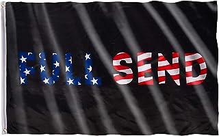 MATICAN Full Send Flag, US Flag, 3x5 Feet, 68D, Polyester