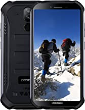 Điện thoại di động Android – DOOGEE S40 Lite 3G Rugged Smartphone Android 9.0, Dual SIM Free Mobile Phones 2GB + 16GB 5.5 inch IP68/IP69K Waterproof, 4650mAh Quad-Core, 8MP+5MP Dual Rear Cameras, Fingerprint Face ID, Black