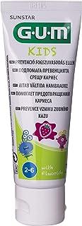 Gum Kids Toothpaste 2-6 Years, Strawberry flavor, 50 ml