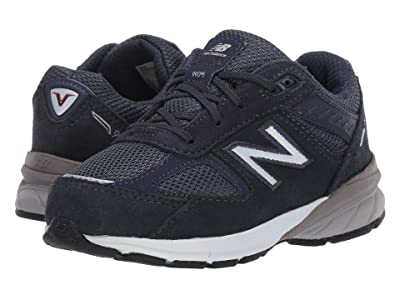 New Balance Kids 990v5 Launch (Infant/Toddler) (Navy) Kids Shoes