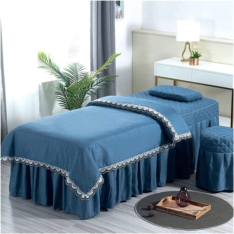 Chilechuan SPA Treatment Beauty Gifts Salon Bed Table Fresno Mall Skirt, Massage