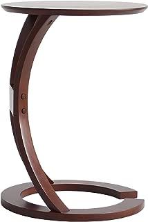 市場 サイドテーブル (LOTUS) 幅43×奥45×高54cm ブラウン ILT-2987BR