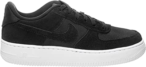 Nike Youth Air Force 1 GS Suede Textile Trainers