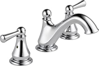 Delta Faucet Haywood 2-Handle Widespread Bathroom Faucet with Drain Assembly, Chrome 35999LF