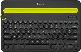 Logitech Bluetooth Multi-Device Keyboard K480 - Wireless Connectivity - Bluetooth - English, French - Black (Certified Refurbished)