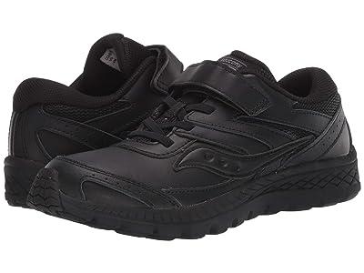 Saucony Kids S-Cohesion 13 A/C (Little Kid/Big Kid) (Black/Black) Kids Shoes