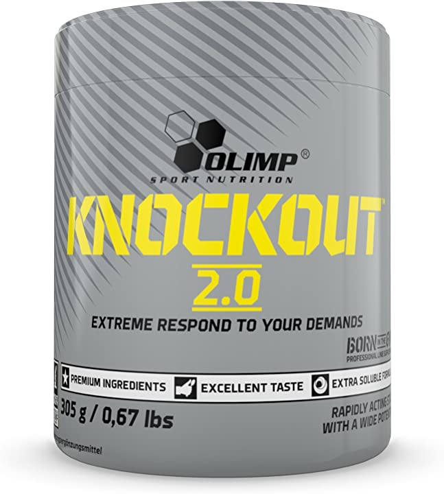 Pre workout olimp sport nutrition knockout 305g cola blast - 390 gr B01N4NTIMB
