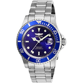 Invicta Men's Pro Diver Quartz Watch Stainless Steel Strap