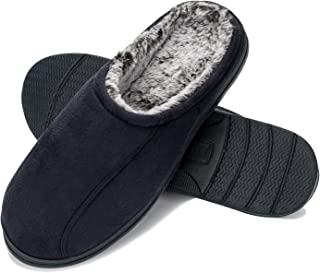 Sponsored Ad - COASIS Men's Comfort Memory Foam Slippers House Shoes Warm Plush Lining for Indoor/Outdoor