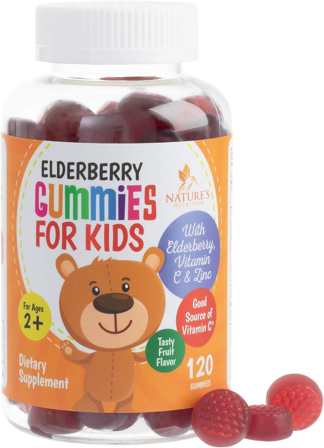 Elderberry Gummies for Popular shop is the lowest price challenge Kids Extra Gummy Strength Max 58% OFF Sambucus Nigra
