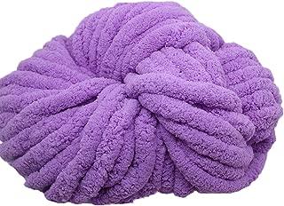 Chunky Chenille Yarn,Arm Knitting Yarn,500g Thick Chunky Yarn for Arm Knitting or Hand Knitting,Chunky Blanket Yarn