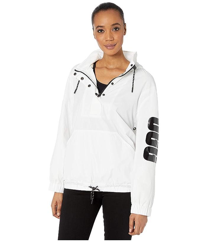 UGG  Cameron Anorak (White) Womens Clothing