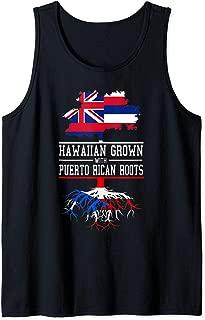 Hawaii Inspired Hawaiian Grown with Puerto Rican Roots Tank Top