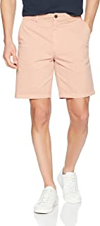 "Amazon Brand - Goodthreads Men's Slim-Fit 9"" Inseam Flat-Front Comfort Stretch Chino Shorts"