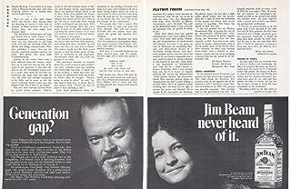 1977 Vintage Magazine Advertisement Jim beam Generation Gap
