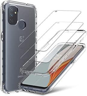 lovpec Case for OnePlus Nord N100 with [2 Packs] Soft TPU...