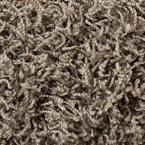 Teppichboden Auslegware | Hochflor Langflor | 400 und 500 cm Breite | grau beige | Meterware, verschiedene Größen | Größe: 2,5 x 4 m
