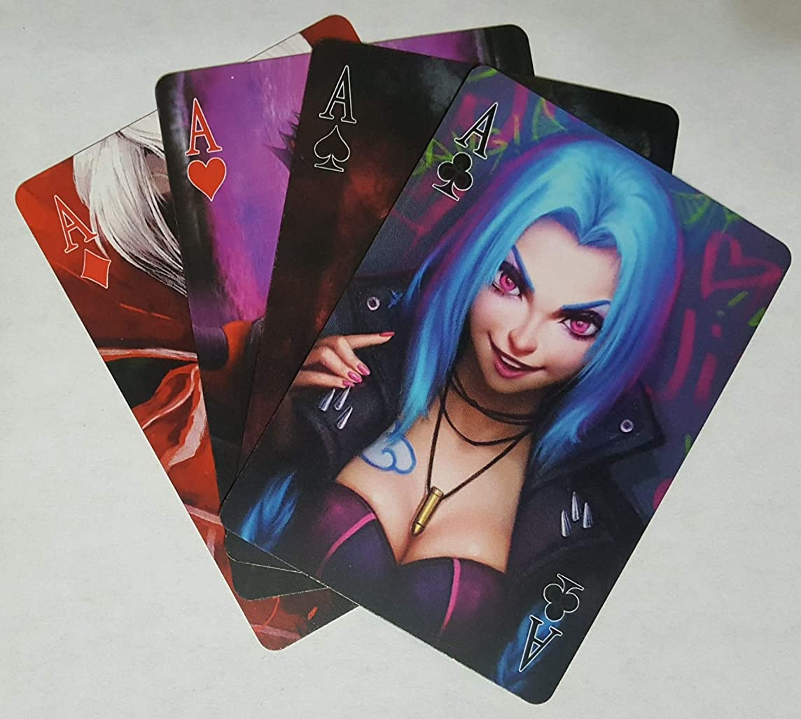 League of Legends Poker Playing Cards - Limited Edition Golden Edge