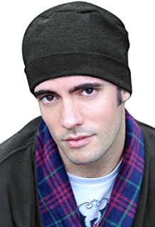 Mens Sleep Cap - 100% Cotton Night Cap for Men