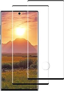 DASFOND Protector Pantalla para Samsung Galaxy Note 10+/Note 10 Plus, [2 Piezas] Cristal Templado Galaxy Note 10 Plus,[3D Cobertura Completa] [9H Dureza] [Sin Burbujas], [Resistente Arañazos]