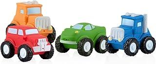 Nuby Squirt Wheels Bath Toys 4 Pack
