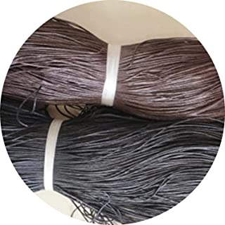I'll NEVER BE HER 10 Meters 1Mm Diameter Waxed Cotton Thread Cord Hand Sewing String Necklace Rope Bead for Bracelet Jewelry Making