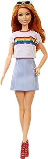 Barbie FXL55 FASHIONISTAS DOLL - RAINBOW SHIRT