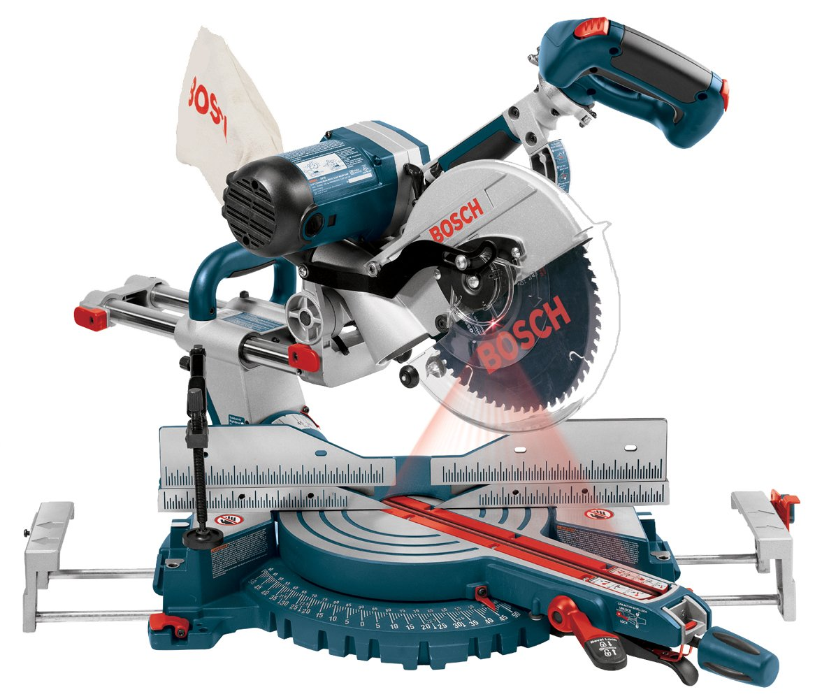Bosch 4410l 15 Amp 10 Inch Dual Bevel Sliding Compound Miter Saw Power Miter Saws Amazon Com
