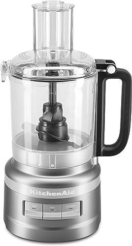popular KitchenAid KFP0918CU Easy lowest Store Food sale Processor, 9 Cup, Contour Silver online sale