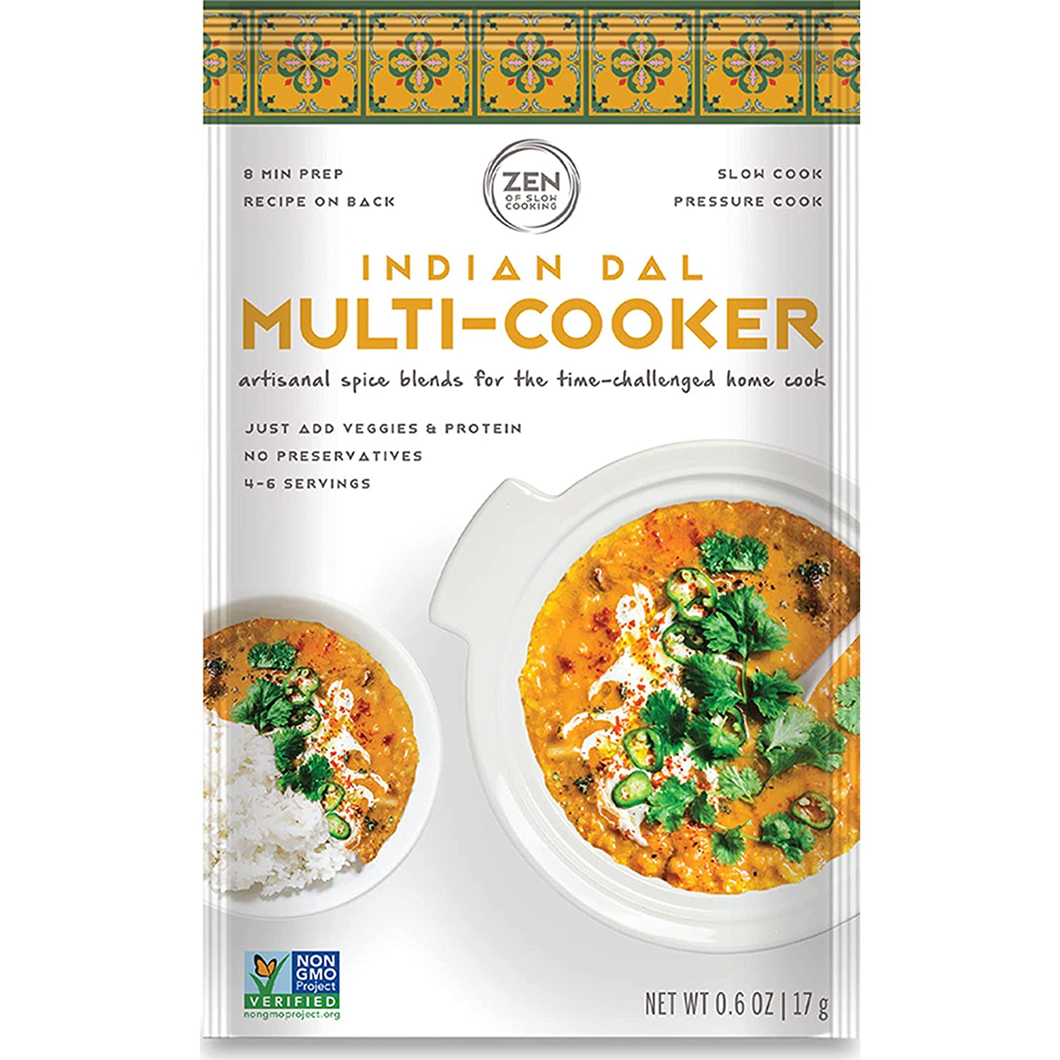 Indian Dal Gourmet Spice Blend Many Max 62% OFF popular brands 6 Seasoning SALT Pouches LOW -