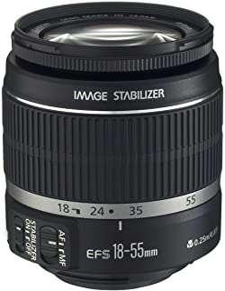 Canon EF-S 18-55mm f/3.5-5.6 IS II SLR Lens White Box