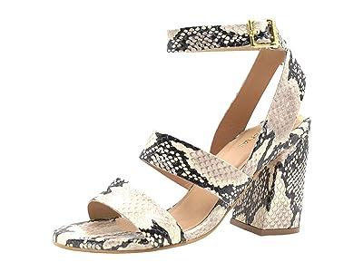 KAANAS Komodo Strappy Snake Heel (Honey) Women